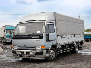 日産 アトラストラック  カスタムグレード 3t 平ボディ ワイド超ロング アルミブロック