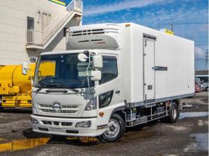 日野 レンジャー  低温冷凍車 4t 格納パワーゲート付き -30℃ 標準 セミロング 左サイドドア