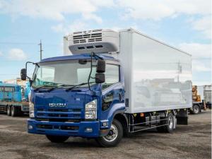 いすゞ フォワード  中温冷凍車 -5℃ ワイドロング 3t 6MT ラッシングレール2段 バックアイ