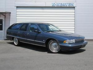 シボレーカプリス クラシックワゴン 1995yモデル 新車並行車 LT1エンジン カーファックス証明付き 1ナンバー登録 ベンチシート