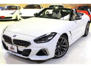 BMW Z4 M40i ワンオーナー 19インチ Mライト アロイホイールホワイトレザーシート バックカメラ TVファンクション harman/kardon サラウンド
