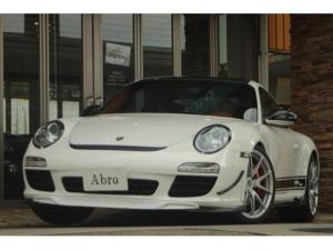 ポルシェ 911 911カレラS 997後期 6速MT テラコッタフルレザー ビルシュタイン車高調 TWS19AW 加工バルブ切替スポーツマフラー GT3フロントピロアッパー ブレンボスポーツkit F&Rアルミタワーバー