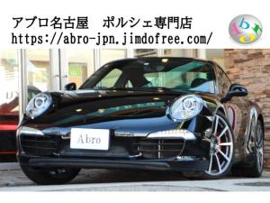 ポルシェ 911 911カレラS スポーツクロノ 1オーナー 純正ナビ ディーラー車 ブラックフルレザー カレラクラシック20AW PDCC PASM アルカンターラルーフライナー アイドリングストップ 電動格納ミラー