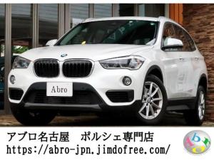 BMW X1 xDrive 18d 純正ナビ バックカメラ インテリジェントセーフティー クリアソナー ミラー一体型ETC 純正アルミ ドライブモード LEDヘッド