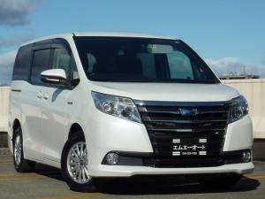 トヨタ ノア ハイブリッドX ディライトプラス 両側電動スライドドア LEDヘッドランプ スマートキー 3列シート