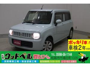 スズキ アルトラパン X 純正CD スマートキー マニュアルエアコン Goo保証1年・車検整備付