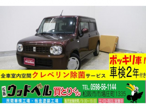 スズキ アルトラパン G 純正CD スマートキー プッシュスタート Goo保証1年・車検整備付