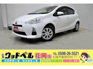 トヨタ アクア S ナビ フルセグ CD DVD Bluetooth バックカメラ ETC ドライブレコーダー スマートキー プッシュスタート Goo保証1年 車検整備付