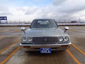 トヨタ クラウンバン DX ベンチシート コラムオートマ 丸目4灯式ヘッドライト クレーガー ホワイトレター 色変え全塗装