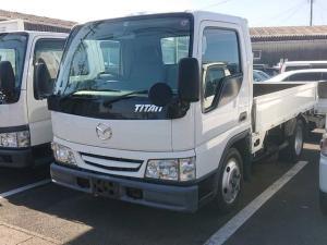 マツダ タイタントラック  全低床DX 2t積載 エアコン パワーウィンドウ 4300ccディーゼル タイヤ6本取替 荷台鉄板張り