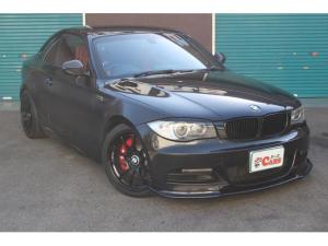 BMW 1シリーズ 135i 6速MT レカロシート ADVAN18インチAW シュニッツァーサスペンション 純正ナビ カーボン多