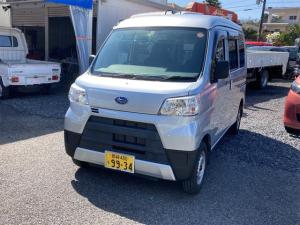 スバル サンバーバン トランスポーター キーレス 両側スライドドア パワーウィンドウ エアコン アイドリングストップ CD Wエアバック