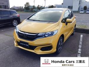 ホンダ フィットハイブリッド F Honda SENSING 社外ナビ 当店試乗車
