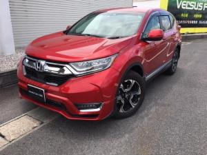 ホンダ CR-V EX Honda SENSING Hondaインターナビ+リンクアップフリー リアカメラ ETC2.0車載器 運転席&助手席シートヒーター 18インチアルミ ブラインドスポットインフォメーション