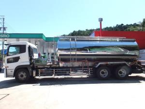 UDトラックス クオン ベースグレード 青木製作所タンク車 最大数量12000L 最大積載量12000kg 専用運搬車水