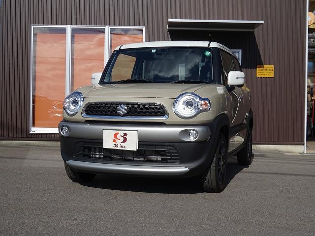 新入荷 クロスビーMZ 試乗車UP車両 全方位カメラ 前後誤発進抑制機能 LEDヘッドライト パドルシフト