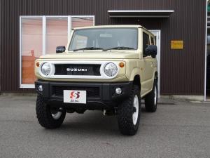 スズキ ジムニー XL 登録届出済未使用車 1.5インチアップ RAYS16インチ 57JX ホワイト
