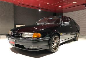 サーブ 9000シリーズ 9000エアロ2.3ターボ 5速MT ディーラー車 黒革