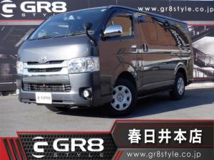 トヨタ ハイエースバン  LEDヘッドライト/AC100V電源/ETC/バックカメラ