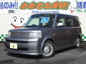 トヨタ bB 後期 Z 純正ウェルキャブ 助手席電動昇降 CD