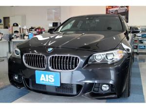 BMW 5シリーズ 523i Mスポーツ 黒レザーシート サンルーフ ACC