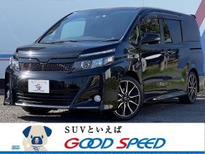 トヨタ ヴォクシー ZS G's 純正10型SDナビTV バックカメラ 純正12型フリップダウンモニター 両側電動スライドドア セーフティーセンス LEDヘッド スマートキー ハーフレザーシート 専用18インチAW