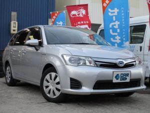 トヨタ カローラフィールダー ハイブリッドG Bluetooth対応SDナビ・ETC・PUSHスタート