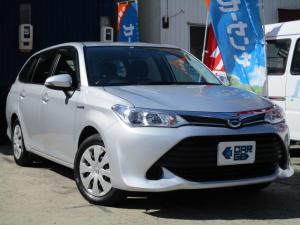 トヨタ カローラフィールダー ハイブリッド Bluetooth対応SDナビ・無料保証付