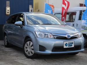 トヨタ カローラフィールダー ハイブリッドG Bluetooth対応ナビ・ETC・PUSHスタート・スマートキー・シートヒーター
