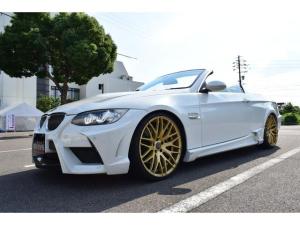 BMW 3シリーズ 335iカブリオレ エナジ-モータースポーツコンプリート車 現行LOOKカスタムヘッドライト 車高調 20インチホイール 可変マフラー ETC パールオールペイント