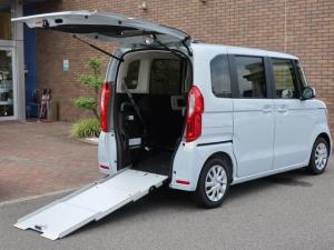 ホンダ N-BOX L・スロープ 車椅子仕様 福祉車両 電動ウインチ 電動ウインチリモコン 車いす乗員用手すり 3点式ELRシートベルト 車いす固定ベルト 両側電動パワースライドドア シートヒ-ター サイドカ-テンエアバック