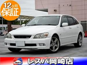トヨタ アルテッツァジータ AS200 Zエディション 6速MT タイミングベルト交換 ナビ DVD再生 ワンセグ キーレス HID オートライト Wエアバッグ ABS