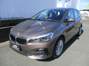 BMW 2シリーズ 218dグランツアラー 純正HDDナビ バックカメラ クリアランスソナー LEDヘッドライト