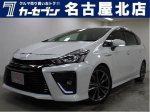 トヨタ プリウスアルファ SツーリングセレクションG's BIGXナビ OPアルミ