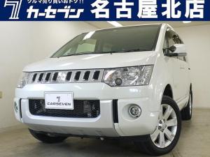 三菱 デリカD:5 D パワーパッケージ 4WD/両側パワスラ/クルコン/ナビ/ALPINE後席モニター/Bluetooth/バックカメラ/シートヒーター/フルセグ/ディーゼル/ターボ