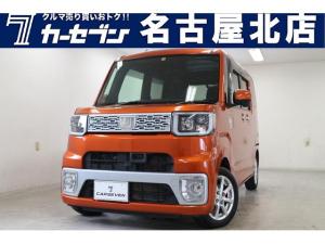 ダイハツ ウェイク X SA ユーザー買取車/衝突軽減ブレーキ/LEDヘッドライト/ETC/フルセグ/14インチ