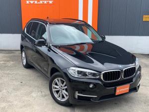 BMW X5 xDrive 35i 走行中KIT 半年無制限距離保証付 360度カメラ Rパワートランク コーナーセンサー コンフォートアクセス