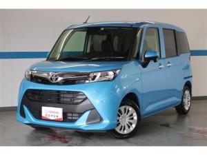 トヨタ タンク X S 試乗車・サポカー・禁煙車・SDナビ・ワンセグTV・Bluetooth・バックカメラ・スマートキー・片側電動スライドドア