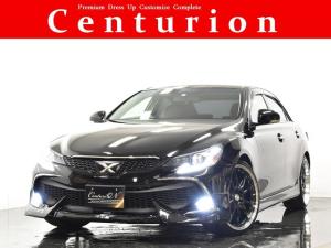 トヨタ マークX 250G リラックスセレクション・ブラックリミテッド Bluetooth対応ナビTV 新品20インチタイヤホイール 新品フルエアロ 新品LEDファイバーヘッドライト 新品LEDファイバーテールライト 流れるウインカー 新品LEDフォグ ブラックインテリア