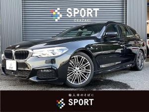 BMW 5シリーズ 523iツーリング Mスポーツ アクティブクルーズコントロール インテリジェントセーフティ 純正ナビTV 全周囲カメラ パワーバックドア コンフォートアクセス LEDヘッド 純正アルミホイール ミラーインETC Bluetooth