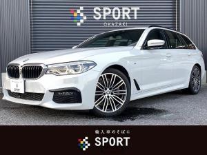 BMW 5シリーズ 523iツーリング Mスポーツ アクティブクルーズコントロール インテリジェントセーフティ 純正HDDナビ フルセグ 全周囲カメラ パワーバックドア コンフォートアクセス ミラーインETC Bluetooth 純正AW LED