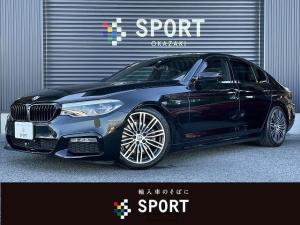 BMW 5シリーズ 523d Mスポーツ 純正HDDナビ インテリジェントセーフティ アーキュレーマフラー HRダウンサス キドニーグリル アクティブクルーズコントロール パワーリアゲート