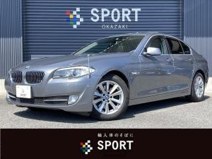 BMW 5シリーズ 523i ハイラインパッケージ 黒革 サンルーフ シートヒーター・メモリー 純正HDDナビ フルセグTV バックカメラ オートクルーズコントロール DVD CD Bluetooth ETC