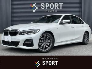 BMW 3シリーズ 320i M Sport 純正ナビ コンフォートPKG ハーフレザー バックカメラ クリアランスソナー シートヒーター 電動リアゲート LEDヘッドライト 純正18インチアルミ パワーシート ETC パドルシフト