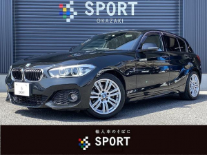 BMW 1シリーズ 118d MSport 後期 インテリセーフ 純正ナビ Bカメラ オートクルーズコントロール LEDヘッドライト オートライト DVD CD Bluetooth ETC