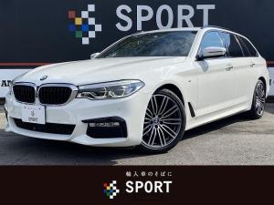 BMW 5シリーズ 523d M スポーツ ワンオーナー 純正ナビ フルセグ Bluetoothオーディオ 全方位カメラ メモリ付きパワーシート アダプティブクルーズコントロール ヘッドアップディスプレイ ブラインドスポットモニター ETC