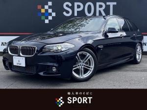 BMW 5シリーズ 523dツーリング Mスポーツ アクティブクルーズ インテリセーフ 純正HDDナビ フルセグ バックカメラ パワーバックドア キセノンヘッドライト ミラーインETC コンフォートアクセス 純正18インチアルミ  Bluetooth