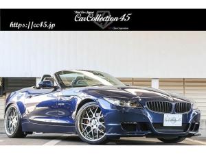 BMW Z4 sDrive23i ハイラインパッケージ ハーマンフロントエアロバンパー トランクスポイラー 3Dデザイン車高調 SSR19インチホイール LEDデイライト インターフェイス装着 バックカメラ 黒革シート シートヒーター 純正HDDナビ