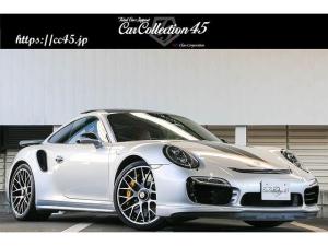 ポルシェ 911 911ターボS 正規ディーラー車 スポーツクロノパッケージ PCCB サンルーフ ツートンレザーインテリア シートヒーター/ベンチレーション ヘッドレストエンボス加工 エントリードライブ 電動格納ミラー LEDヘッド