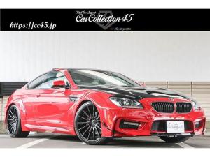 BMW 6シリーズ 650iクーペ MスポーツPKG 正規ディーラー車 右ハンドル プリオールデザインワイドボディエアロ 各所塗分け VOSSEN21ホイール ZEESマフラー バングオルフセンサウンドシステム クリームレザーシート